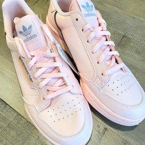 Kids Adidas Continental Pink Sneakers